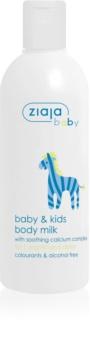 Ziaja Baby Bodylotion für Kinder und Säuglinge ab 1. Monat