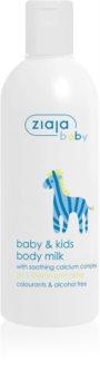Ziaja Baby losjon za telo za otroke in dojenčke od 1. meseca
