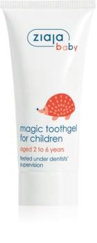 Ziaja Baby gel para dentes de crianças com fluór
