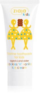 Ziaja Kids Cookies 'n' Vanilla Ice Cream Zahnpasta für Kinder