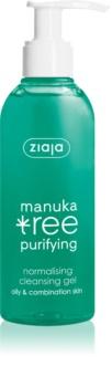 Ziaja Manuka Tree Purifying gel de limpeza para pele oleosa e mista