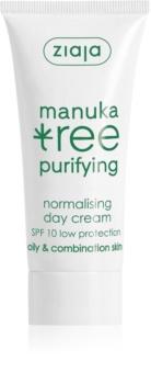 Ziaja Manuka Tree Purifying Day Cream for Oily and Combination Skin