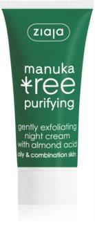 Ziaja Manuka Tree Purifying Exfoliating Night Cream to Treat Acne