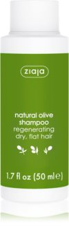 Ziaja Natural Olive champô regenerador para cabelo seco