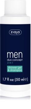 Ziaja Men Shampoo And Shower Gel 2 in 1