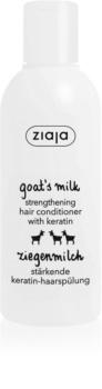 Ziaja Goat's Milk krepilni balzam za suhe in poškodovane lase