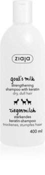 Ziaja Goat's Milk Energising Shampoo for Dry and Damaged Hair