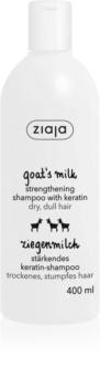Ziaja Goat's Milk šampon za okrepitev las za suhe in poškodovane lase