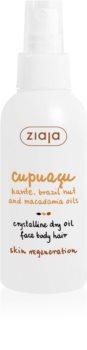 Ziaja Cupuacu Kristallin torrolja  för ansikte, kropp och hår