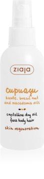Ziaja Cupuacu suchy krystaliczny olejek do twarzy, ciała i włosów