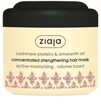 Ziaja Cashmere maska za okrepitev las za suhe, obremenjene lase