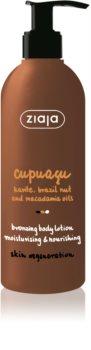 Ziaja Cupuacu lait corporel auto-bronzant
