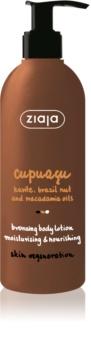 Ziaja Cupuacu mlijeko za tijelo za samotamnjenje