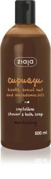 Ziaja Cupuacu krystalický sprchový gel a koupelové mýdlo
