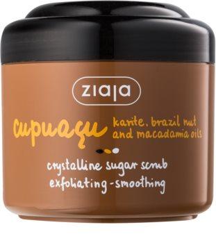 Ziaja Cupuacu esfoliante de açucar cristalino