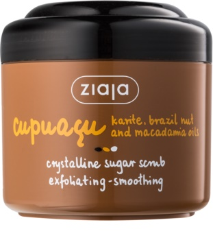 Ziaja Cupuacu Peeling met Kristalsuiker