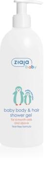 Ziaja Baby gel de banho para corpo e cabelo 2 em 1