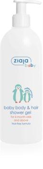 Ziaja Baby sprchový gel na tělo a vlasy 2v1