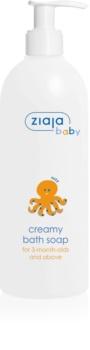 Ziaja Baby Creme de sabão hipoalergénico para crianças a partir do 3º mês