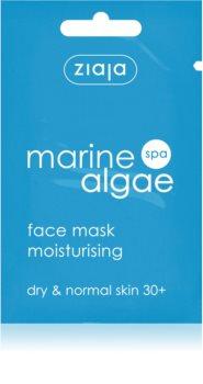 Ziaja Marine Algae зволожуюча маска для нормальної та сухої шкіри