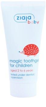 Ziaja Baby żel do zębów dla dzieci z fluorem
