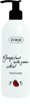 Ziaja Grapefruit with Green Mint mydło w płynie do rąk