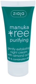 Ziaja Manuka Tree Purifying Peeling-Nachtcreme  gegen Akne