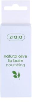 Ziaja Natural Olive vyživující balzám na rty s výtažkem z oliv