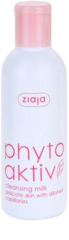 Ziaja Phyto Aktiv odličovací mléko pro citlivou pleť se sklonem ke zčervenání