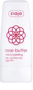 Ziaja Rose Butter Bodypeeling mit Mikrogranulat 30+
