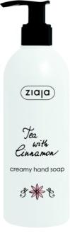 Ziaja Tea with Cinnamon kremowe mydło do rąk