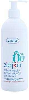 Ziaja Ziajka sprchový gél na telo a vlasy 2 v 1