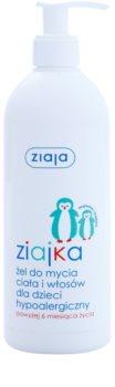 Ziaja Ziajka żel pod prysznic do ciała i włosów 2 w 1