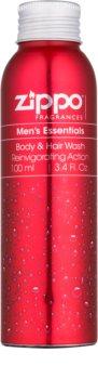 Zippo Fragrances Men´s Essentials gel za tuširanje za muškarce 100 ml