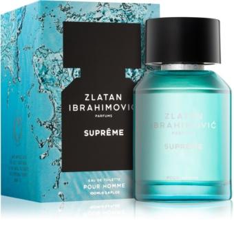 Zlatan Ibrahimovic Supreme eau de toilette per uomo 100 ml