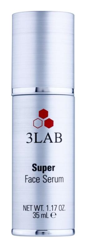 3Lab Platinum Collection Feuchtigkeitsspendendes Serum mit ernährender Wirkung kompletter Anti-Falten Schutz