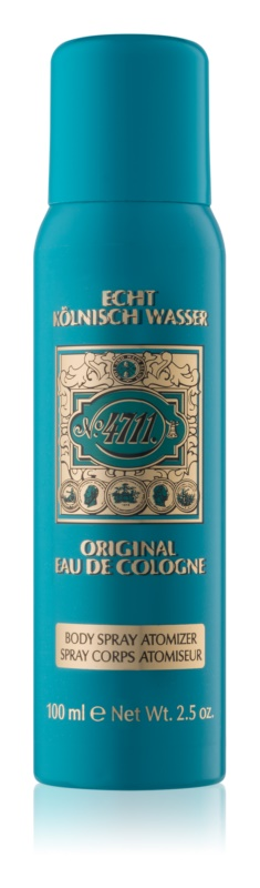 4711 Original spray corporel mixte 100 ml