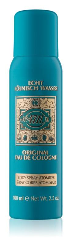 4711 Original tělový sprej unisex 100 ml