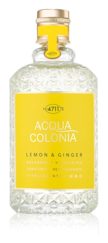 4711 Acqua Colonia Lemon & Ginger одеколон унисекс 170 мл.