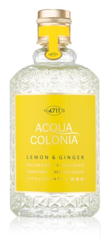 4711 Acqua Colonia Lemon & Ginger woda kolońska unisex 170 ml