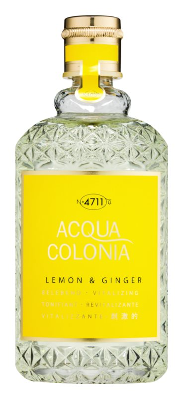 4711 Acqua Colonia Lemon & Ginger kolinská voda unisex 170 ml