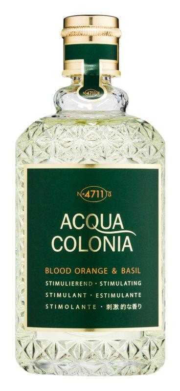 4711 Acqua Colonia Blood Orange & Basil Eau de Cologne unissexo 170 ml