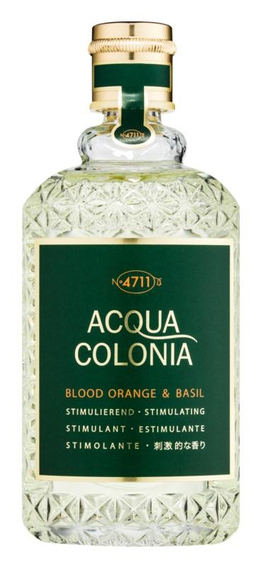 4711 Acqua Colonia Blood Orange & Basil kolonjska voda uniseks 170 ml