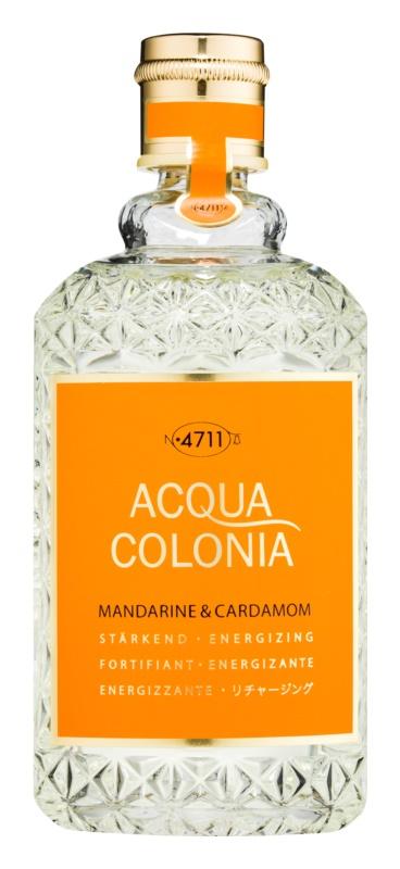 4711 Acqua Colonia Mandarine & Cardamom acqua di Colonia unisex 170 ml