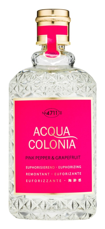 4711 Acqua Colonia Pink Pepper & Grapefruit Eau de Cologne unisex 170 ml