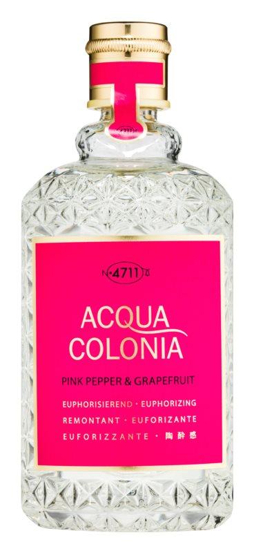 4711 Acqua Colonia Pink Pepper & Grapefruit woda kolońska unisex 170 ml