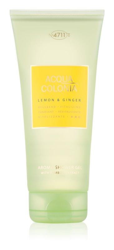 4711 Acqua Colonia Lemon & Ginger gel doccia unisex 200 ml
