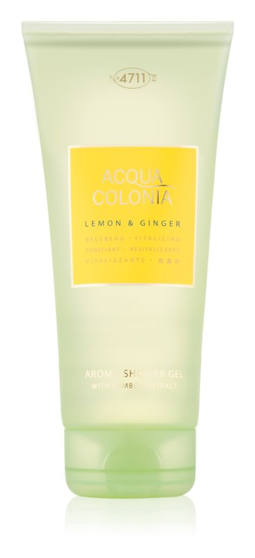 4711 Acqua Colonia Lemon & Ginger sprchový gel unisex 200 ml