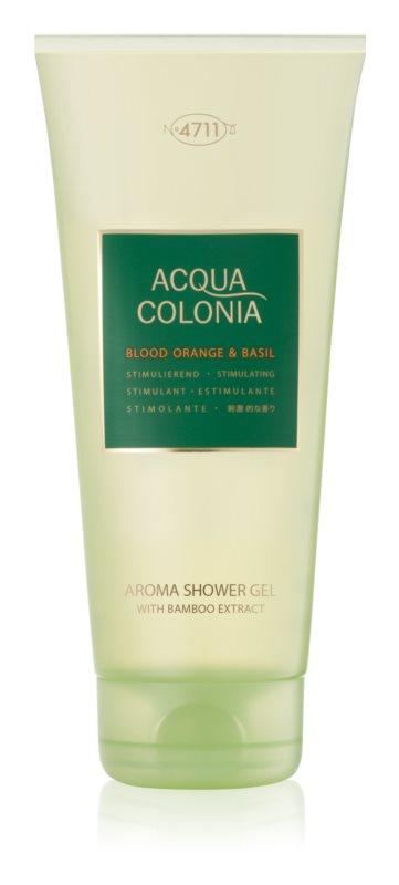 4711 Acqua Colonia Blood Orange & Basil gel za tuširanje uniseks 200 ml