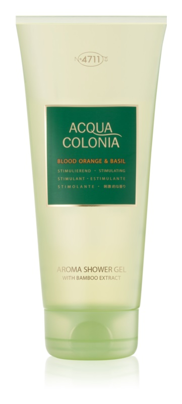 4711 Acqua Colonia Blood Orange & Basil sprchový gél unisex 200 ml